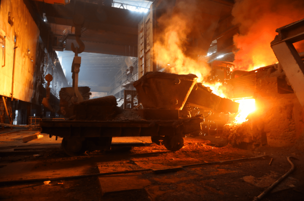 640 1024x678 - Electric steelmaking broke three daily production plans, and they did