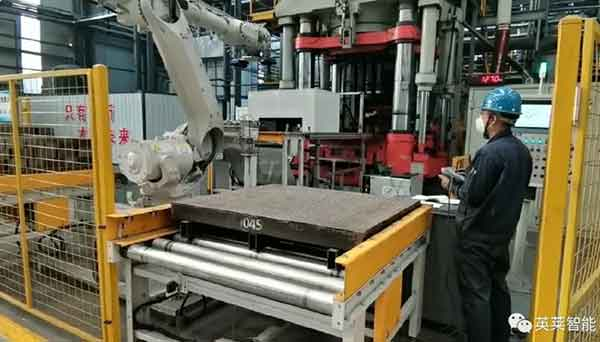 Robot intelligent palletizing system4 - Intelligent palletizing system