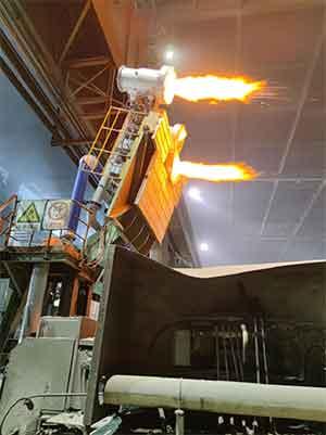Second generation regenerative roaster - Second-generation regenerative roaster-steel plant