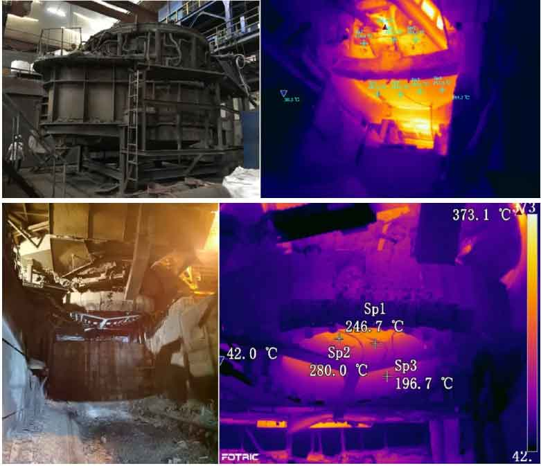 electric furnace refractory material1 - Using new technology to solve the defect of electric furnace refractory material