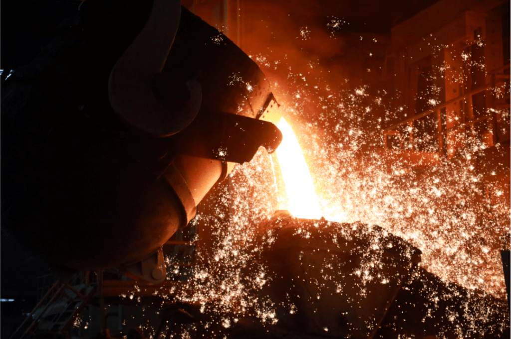 steel making 1024x681 - Electric steelmaking broke three daily production plans, and they did